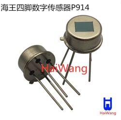 Pyroelectric動きセンサーの人間の探知器のための赤外線センサーP914デジタルPIR赤外線センサー