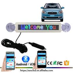 Visualizzazione leggera intelligente astuta del segno dell'automobile di alta luminosità LED con il segno facoltativo dell'automobile di colore monocromatico LED di /Full dei messaggi di Scrolling della visualizzazione di Bluetooth
