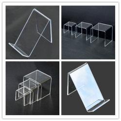 Affichage acrylique, socle en plexiglas, acrylique Rack, affichage en acrylique