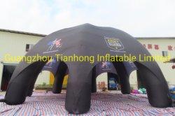 10m de la Araña hinchable gigante carpa Carpa Domo de aire inflables