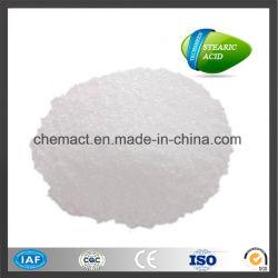 Acido stearico 1801 del lubrificante dell'Indonesia di prezzi bassi 2017 per la scheda del PVC del tubo del PVC di profilo del PVC