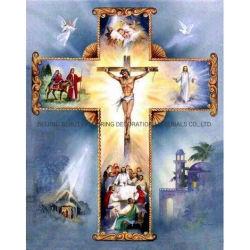 As religiões Jesus Diamond Kits de Pintura 5D DIY Diamond Bordados Cruz