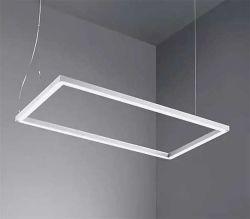 Commerce de gros 1200 mm de 4 ft l'application de bureau vers le haut et vers le bas la poignée de commande LED lumière linéaire droites 40W~80W à LED Bureau Lumière linéaire jusqu'lumière vers le bas