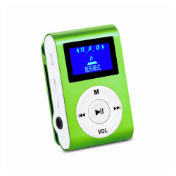 Speler van de Klem van Eran M22B de Kleurrijke MP3 met het Scherm OLED