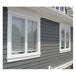 El bastidor de doble ventana aluminio Casement malla mosquitera insecto luneta