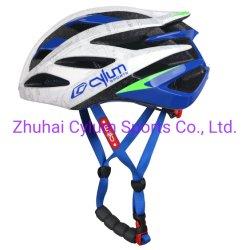PC in-Mold Safety Blue&White Helmet voor Bike