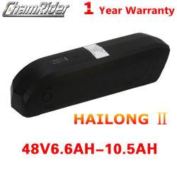 Ес Безналоговых оригинал 48V6.6ah-10.5ah литий Li-ion Hailong 2 Электрический велосипед аккумуляторная батарея Ebike BBS02 Ebike Bbshd Электродвигатель среднего уровня заряда аккумулятора