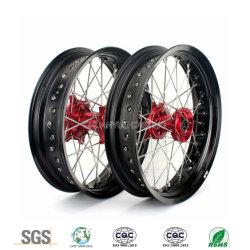Aluminiumlegierung-maschinell bearbeitenmotorrad zerteilt Aluminiumspeiche-Räder für Honda