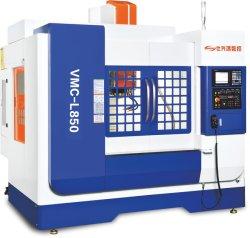 CNC Vmc-L850 vertikales Metall der Bearbeitung-Mitte-(2-axis linear+1-axis steife Schiene), das Werkzeugmaschine Maschinerie-Fräsmaschinetorno-Mecanico aufbereitet