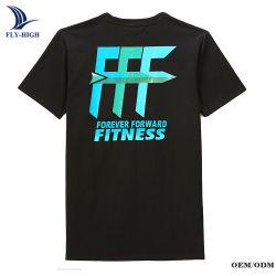 La Chine de gros de la conception personnalisée de style décontracté T-shirt, l'homme vierge 100%COTON O cou T Shirt