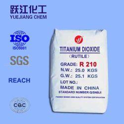 علامة الطريق الطلاء الطلاء الطلاء الطلاء الطلاء الطلاء الطلاء التيتانيوم TiO2 R210 الدرجة الاقتصادية