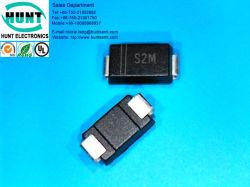 S2m 2A 1000V SMD 표준 정류기 다이오드