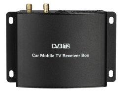 Carro móvel digital USB DVB-T2 Caixa do receptor de TV