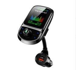 C85 de Moderne Hands-Free Speler van Bluetooth van het Scherm van de Kleur van de Speler van de Last van de Flits van de Auto MP3 QC3.0 AutomobielMP3 Multifunctionele