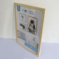 Galerie de bois d'Art Photo Sculpture Peinture Case Image Stand titulaire pour les murs du jeu de cadres