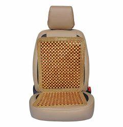 Siège du conducteur de voiture de perles de bois coussin masseur de siège de voiture