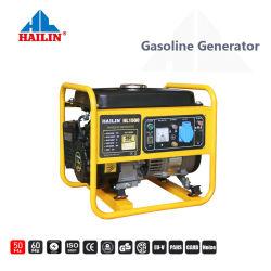 黄色いカラーの非常のUper力ライトそして低雑音のガスの発電機セット