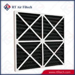 Filtration de gaz primaire AC Panneau du filtre à air du filtre à charbon activé