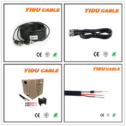 Câble coaxial RG59+2c Câble d'alimentation/câble de données Câble ordinateur//// câble de communication Connecteur du câble audio