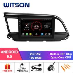 Navigation des Witson Android-9.0 des Auto-DVD für Hyundai Elantra 2019