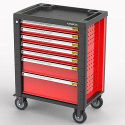 Kinbox는 강철판 7 서랍 작업장 이동할 수 있는 공구 손수레를 냉각 압연했다
