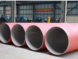 Alimentação China Ss 304 316 aço inoxidável 304 Resíduos explosivos de tubos de Inox Tubos