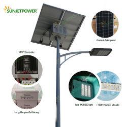 Jinko Solar Panel Mppt Controller Government Project 100w Solar Led Street Light Più Stabile E Lunga Durata Rispetto Alla Luce Solare Stradale Integrata All-In-One
