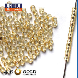 Commerce de gros des perles de verre coloré décoratif et perles de semences