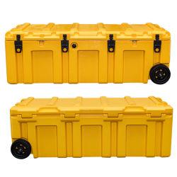 تخزين الشاحنات للمعدات صندوق الأدوات العسكرية 175 مع العجلة