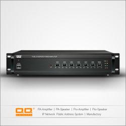 200W Transformador Misturador Mini Amplificador para 3 entradas com a função limitador de velocidade
