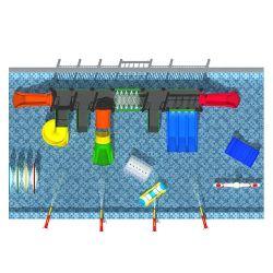 Utilisé Piscine Faites glisser les diapositives de l'eau pour la vente (TY-1903141)