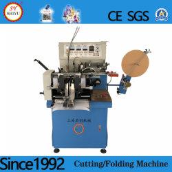 Máquina de corte automático de fita Ultra-sónico Nonwoven Fabric de Nylon pano de Fita de cetim Rótulo máquina de corte de dobragem de cisalhamento do Cortador