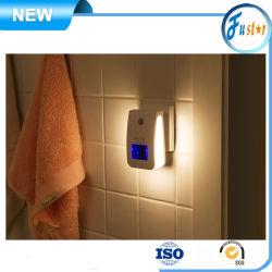 Sensor de pessoas auto gerador de ião negativo luz noturna Anion Releaser Indoor Banho Automática gerador de ozono a ionização do ar negativo iónica