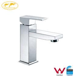 La Chine de gros de la salle de bains en laiton de filigrane Square Mélangeur du bassin de la porcelaine sanitaire (HD4001)