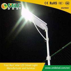 Venda por grosso de 100W exterior todos em uma rua Solar Luz de LED
