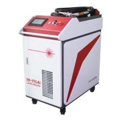 De professionele Handbediende Machine van het Lassen van de Laser van de Vezel 500W voor het Messing van het Aluminium van het Koolstofstaal van het Roestvrij staal van de Las