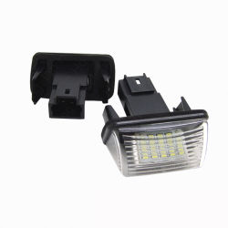 6500K 7000K Peugeot LED 번호판 램프를 위한 백색 가득 차있는 LED 번호판 빛