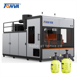 تونفا HDPE 2L البستنة الأمراء يمكن أن يجعل النتوء بيع ماكينة القوالب الساخن