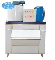 creatore di ghiaccio automatico del fiocco dell'acciaio inossidabile 1500kg/24h per alimento fresco ed elaborare dei frutti di mare