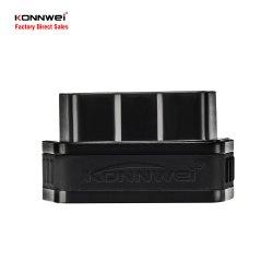 Konnwei Kw901 Elm327 Adaptador Bluetooth Leitor de código de OBD2 Ferramenta de Diagnóstico Automático para automóveis de 12V