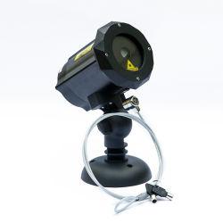 Мини-открытый водонепроницаемый лазерного излучения на лужайке в саду и на Рождество праздник Рождества с голограммами лампы проектора