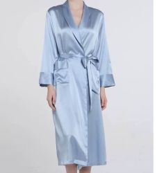 Sleepwear Silk Bathrobes Lingerie女性セクシーな衣類の摩耗のパジャマ