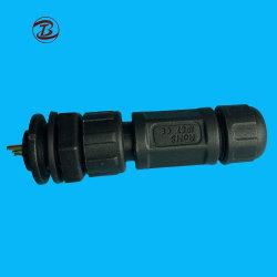 PVC/Rubber/Nylon Rundsteckverbinder-Stecker für Automobil