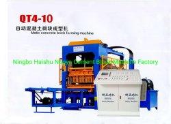 machine à fabriquer des briques de béton Nyqt5-12 avec l'alimentation