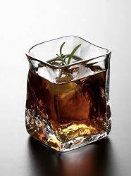 Tazza giapponese di vetro del progettista di cristallo del whisky di spirito giapponese vetro/vetro del liquore