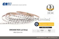 MiniLedstrips 5mm SMD3838 RGB LED Streifen-Licht 120LEDs für Dekoration-Licht mit LED-Controller