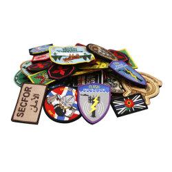 Tecidos personalizados Bordados Patch Militar presente de promoção da etiqueta de bagagem Acessórios FedEx Express Dom Indian Patches Bordados Vestuário (12)