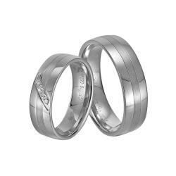 オンライン熱いカスタマイズされた方法925純銀製の水晶のリング