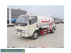 6m3 efluentes de esgotos de sucção dos resíduos de limpeza aspirador de novo veículo usado veículo especial para venda