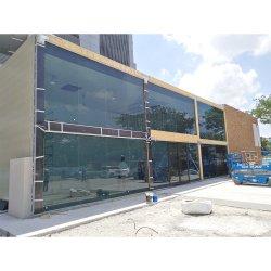 Tamaño de la aduana de la pared de cortina de aislamiento térmico reflectivo bajo Cristal de construcción